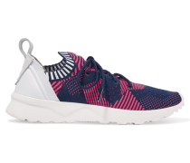Zx Flux Adv Virtue Sneakers Aus Mesh - Rot