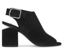 Nadia Slingback-sandalen Aus Veloursleder -