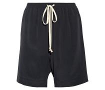 Shorts Aus Crêpe De Chine -