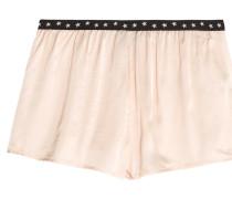 Edie Pyjama-shorts Aus Satin - Creme