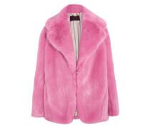 Madison Mantel Aus Faux Fur - Pink