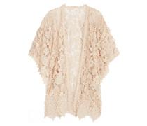 Romantique Kimono Aus Gehäkelter Spitze - Creme