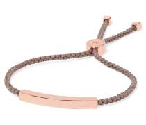 Linear Geflochtenes Armband Mit -vermeil