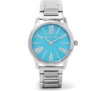 Hartman Silberfarbene Uhr