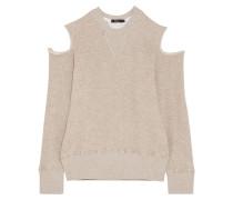 Sweatshirt Aus Einer Baumwollmischung Mit Cut-outs -