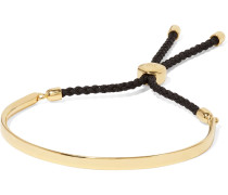 Fiji geflochtenes Armband mit Goldauflage