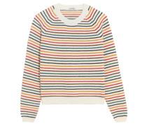 Gestreifter Pullover aus einer Wollmischung