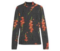 Sidgwick Oberteil Aus Jersey Und Lurex® Mit Blumenprint - Schiefer