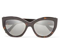Sonnenbrille Mit Cat-eye-rahmen Aus Azetat -