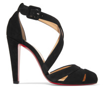 Estradouche 100 Pumps Aus Veloursleder Mit Cut-outs -
