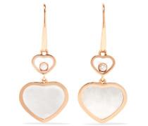 Happy Hearts Ohrringe Aus 18 Karat  Mit Diamanten Und Perlmutt