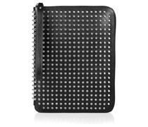 iPad-Tasche aus nietenbesetztem Leder