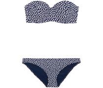Bandeau-bikini Mit Polka-dots -