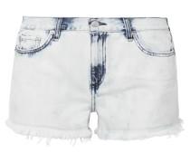 Ausgefranste Jeansshorts -