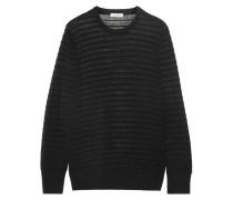 Rei Gerippter Pullover Aus Einer Baumwoll-seidenmischung -