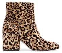 Taye Ankle Boots Aus Kalbshaar Mit Leopardenprint -