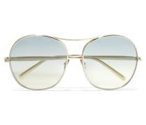 Nola farbene Oversized-sonnenbrille Mit Eckigem Rahmen
