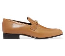 Loafers Aus Leder - Braun