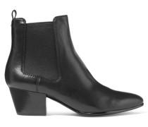 Reesa Chelsea Boots Aus Leder - Schwarz