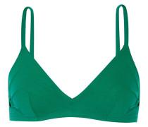 Solaire Andorra Triangel-bikini-oberteil - Jade