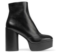 Amber Ankle Boots Aus Leder Mit Plateau -