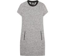 Minikleid aus bondiertem Tweed