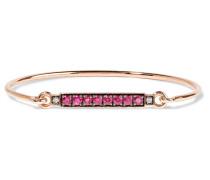 Armband Aus 18 Karat  Mit Rubinen Und Diamanten