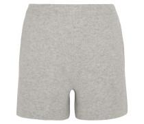 Shorts Aus Einer Woll-kaschmirmischung - Hellgrau