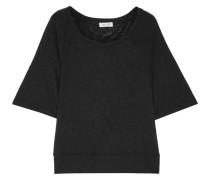 T-shirt Aus Einer Mischung Aus Supima®-baumwolle Und Micromodal® Mit Flammgarneffekt -