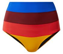 Lydia Hoch Sitzendes Bikini-höschen Mit Streifen -