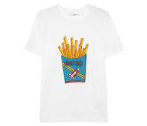 Berkeley T-shirt Aus Bedrucktem Baumwoll-jersey - Weiß