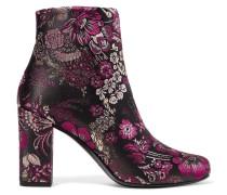 Babies Ankle Boots Aus Brokat - Lila
