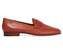Classic Loafers Aus Leder - Braun