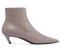 Ankle Boots Aus Leder -