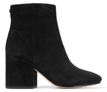 Taye Ankle Boots Aus Veloursleder -