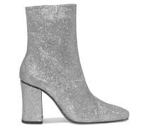 Sybil Leek Ankle Boots Aus Canvas Mit Glitter-finish -