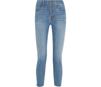 Hochsitzende Skinny Jeans