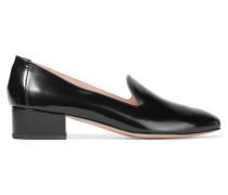 Venetian Loafers Aus Poliertem Leder - Schwarz