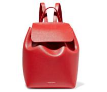Mini Rucksack Aus Strukturiertem Leder -