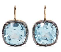 Collection Ohrringe aus 18 Karat  und Silber mit Topasen
