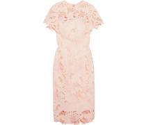 Kleid aus Guipure-spitze mit Rüschendetail -