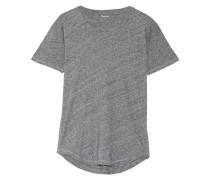 Whisper T-shirt Aus Baumwoll-jersey - Grau
