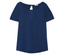 Very Light T-shirt Aus Jersey Aus Supima®-baumwolle Und Micromodal® - Rauchblau