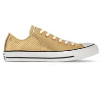 Chuck Taylor All Star Sneakers Aus Metallic-leder Mit Schlangeneffekt -