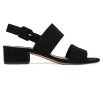 Taye Slingback-sandalen Aus Veloursleder -