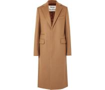 Mantel aus einer Gefilzten Wollmischung