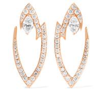Lady Stardust Ohrringe aus 18 Karat  mit Diamanten