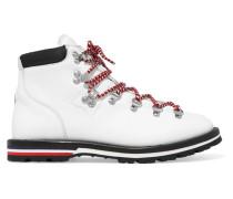 Blanche Ankle Boots aus Leder mit Shearling-futter -