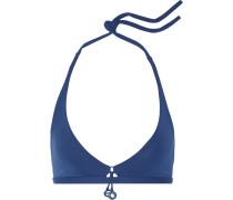 Grigi Play Bikini-oberteil Mit Neckholder - Königsblau