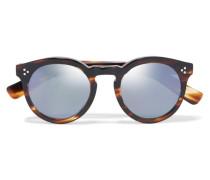 Leonard Ii Verspiegelte Sonnenbrille Mit Rundem Rahmen Aus Azetat -